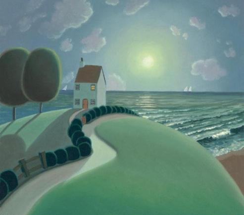 Paul Corfield - The House By The Sea - SOLD