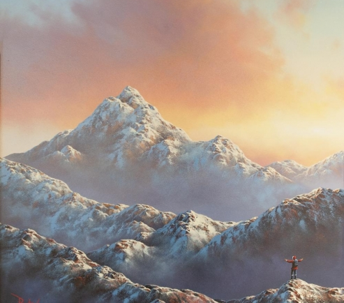 David Renshaw - Up The Mountain